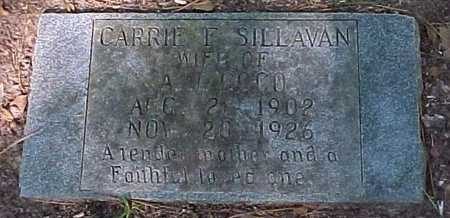 SILLAVAN COCO, CARRIE F - Rapides County, Louisiana | CARRIE F SILLAVAN COCO - Louisiana Gravestone Photos