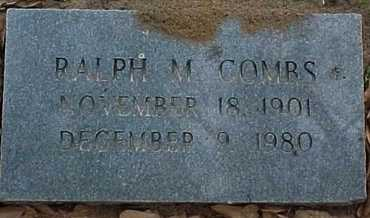 COMBS, RALPH M - Rapides County, Louisiana | RALPH M COMBS - Louisiana Gravestone Photos