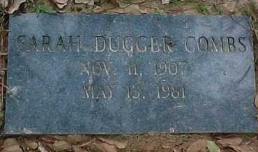 DUGGER COMBS, SARAH - Rapides County, Louisiana | SARAH DUGGER COMBS - Louisiana Gravestone Photos