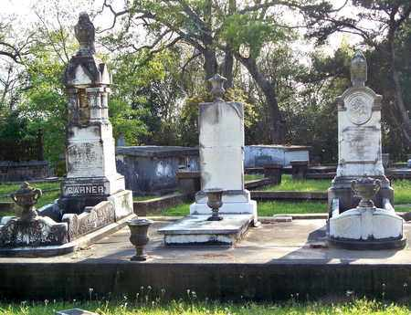 GARNER, FAMILY PLOT - Rapides County, Louisiana | FAMILY PLOT GARNER - Louisiana Gravestone Photos