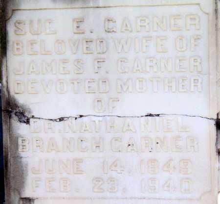 RAGAN GARNER, SUE E (CLOSEUP) - Rapides County, Louisiana | SUE E (CLOSEUP) RAGAN GARNER - Louisiana Gravestone Photos