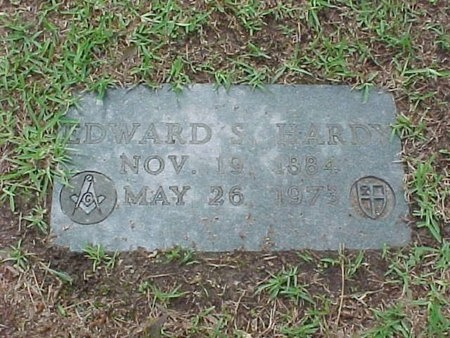 HARDY, EDWARD SIMMONS - Rapides County, Louisiana | EDWARD SIMMONS HARDY - Louisiana Gravestone Photos