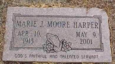 HARPER, MARIE J - Rapides County, Louisiana | MARIE J HARPER - Louisiana Gravestone Photos