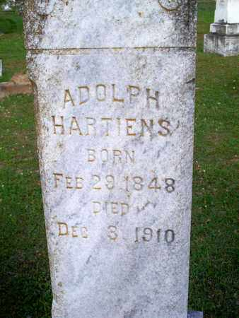 HARTIENS, ADOLPH (CLOSEUP) - Rapides County, Louisiana | ADOLPH (CLOSEUP) HARTIENS - Louisiana Gravestone Photos