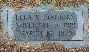HATHORN, ELLA - Rapides County, Louisiana | ELLA HATHORN - Louisiana Gravestone Photos