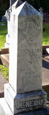 HENDERSON MCNEILL, FANNIE - Rapides County, Louisiana   FANNIE HENDERSON MCNEILL - Louisiana Gravestone Photos
