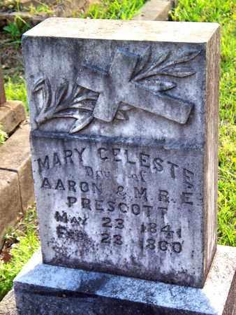 PRESCOTT, MARY CELESTE - Rapides County, Louisiana | MARY CELESTE PRESCOTT - Louisiana Gravestone Photos