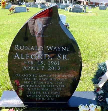 ALFORD, RONALD WAYNE SR - Red River County, Louisiana | RONALD WAYNE SR ALFORD - Louisiana Gravestone Photos