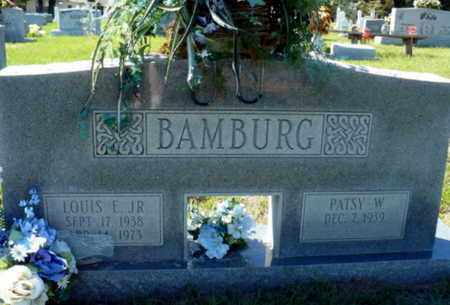 BAMBURG, LOUIS EDWARD JR - Red River County, Louisiana | LOUIS EDWARD JR BAMBURG - Louisiana Gravestone Photos