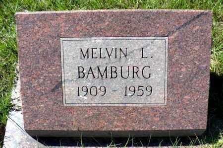 BAMBURG, MELVIN LEE - Red River County, Louisiana | MELVIN LEE BAMBURG - Louisiana Gravestone Photos