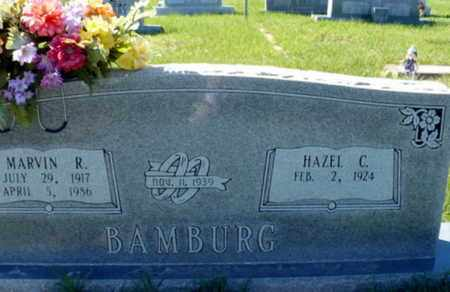 BAMBURG, MARVIN RUSSELL - Red River County, Louisiana | MARVIN RUSSELL BAMBURG - Louisiana Gravestone Photos