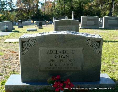 BROWN, ADELAIDE - Red River County, Louisiana | ADELAIDE BROWN - Louisiana Gravestone Photos