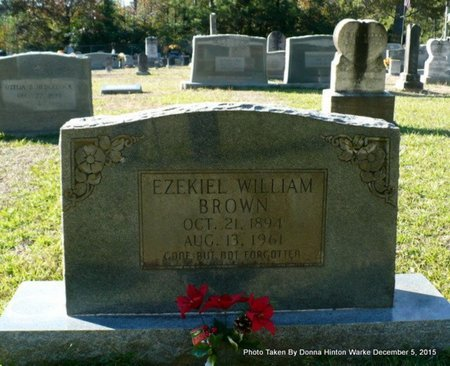 BROWN, EZEKIEL WILLIAM - Red River County, Louisiana | EZEKIEL WILLIAM BROWN - Louisiana Gravestone Photos