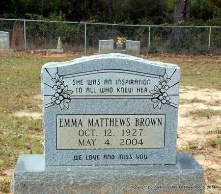 BROWN, EMMA - Red River County, Louisiana | EMMA BROWN - Louisiana Gravestone Photos