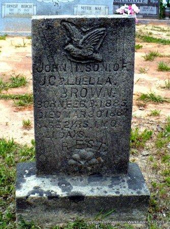 BROWN, JOHN BYDE - Red River County, Louisiana | JOHN BYDE BROWN - Louisiana Gravestone Photos
