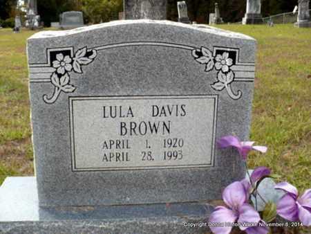 BROWN, LULA - Red River County, Louisiana | LULA BROWN - Louisiana Gravestone Photos
