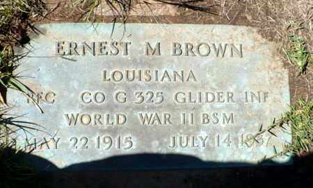 BROWN, ERNEST MAE (VETERAN WWII) - Red River County, Louisiana | ERNEST MAE (VETERAN WWII) BROWN - Louisiana Gravestone Photos