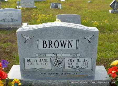 BROWN, BETTY JANE - Red River County, Louisiana | BETTY JANE BROWN - Louisiana Gravestone Photos