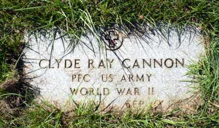 CANNON, CLYDE RAY (VETERAN WWII) - Red River County, Louisiana | CLYDE RAY (VETERAN WWII) CANNON - Louisiana Gravestone Photos