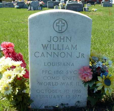 CANNON, JOHN WILLIAM JR - Red River County, Louisiana   JOHN WILLIAM JR CANNON - Louisiana Gravestone Photos