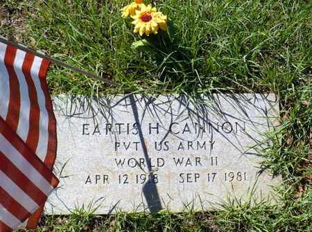 CANNON, EARTIS H (VETERAN WWII) - Red River County, Louisiana | EARTIS H (VETERAN WWII) CANNON - Louisiana Gravestone Photos