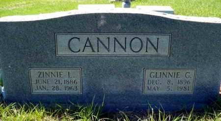 "CANNON, GLENNIS O ""GLINNIE "" - Red River County, Louisiana 