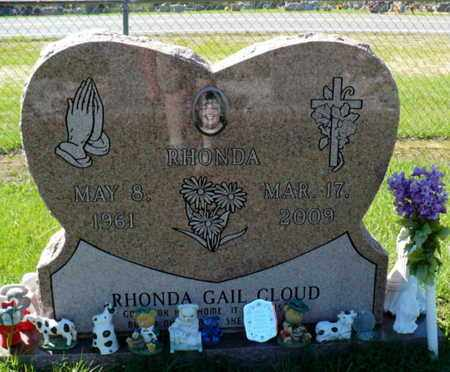 CLOUD, RHONDA GAIL - Red River County, Louisiana | RHONDA GAIL CLOUD - Louisiana Gravestone Photos