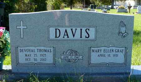 DAVIS, DEVOYAL THOMAS - Red River County, Louisiana | DEVOYAL THOMAS DAVIS - Louisiana Gravestone Photos