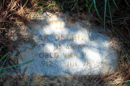 DELRIE, OSCAR, SR (VETERAN WWII) - Red River County, Louisiana | OSCAR, SR (VETERAN WWII) DELRIE - Louisiana Gravestone Photos