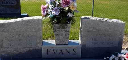BAMBURG EVANS, MAMIE EDNA - Red River County, Louisiana | MAMIE EDNA BAMBURG EVANS - Louisiana Gravestone Photos