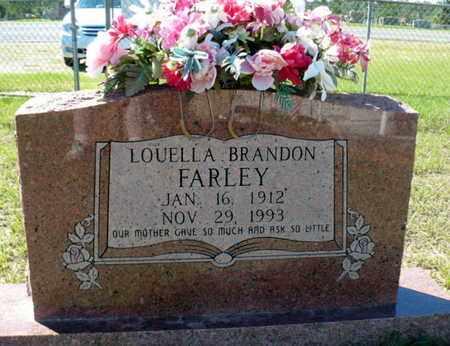 BRANDON FARLEY, LOUELLA - Red River County, Louisiana   LOUELLA BRANDON FARLEY - Louisiana Gravestone Photos