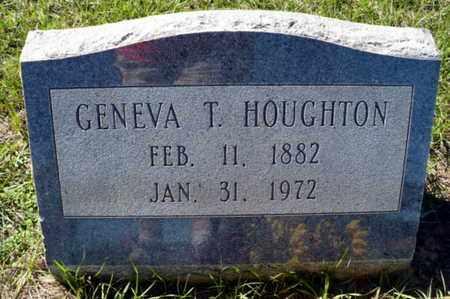 HOUGHTON, GENEVA - Red River County, Louisiana | GENEVA HOUGHTON - Louisiana Gravestone Photos