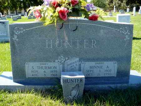 ADKINS HUNTER, MINNIE - Red River County, Louisiana | MINNIE ADKINS HUNTER - Louisiana Gravestone Photos