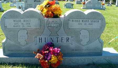 HUNTER, WILLIE ROYCE - Red River County, Louisiana | WILLIE ROYCE HUNTER - Louisiana Gravestone Photos