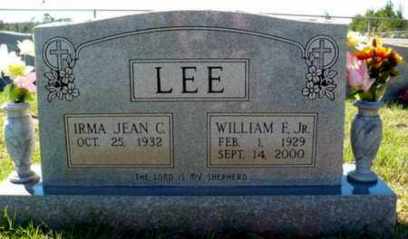 LEE, WILLIAM FRANK JR - Red River County, Louisiana   WILLIAM FRANK JR LEE - Louisiana Gravestone Photos