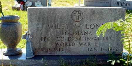 LONG, WILEY WILLIAM (VETERAN WWII) - Red River County, Louisiana | WILEY WILLIAM (VETERAN WWII) LONG - Louisiana Gravestone Photos