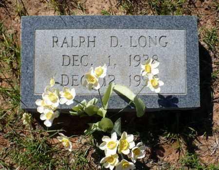 LONG, RALPH D - Red River County, Louisiana | RALPH D LONG - Louisiana Gravestone Photos