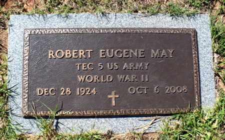 MAY, ROBERT EUGENE (VETERAN WWII) - Red River County, Louisiana | ROBERT EUGENE (VETERAN WWII) MAY - Louisiana Gravestone Photos