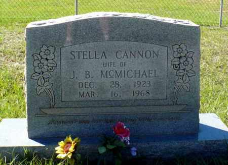"CANNON MCMICHAEL, STELLA CONNIE ""STELLIE"" - Red River County, Louisiana 