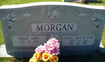 HUNTER MORGAN, LAURA JANE - Red River County, Louisiana | LAURA JANE HUNTER MORGAN - Louisiana Gravestone Photos