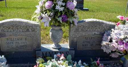 MYERS, MARY L - Red River County, Louisiana | MARY L MYERS - Louisiana Gravestone Photos