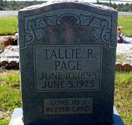 PAGE, TALLIE RAY - Red River County, Louisiana   TALLIE RAY PAGE - Louisiana Gravestone Photos