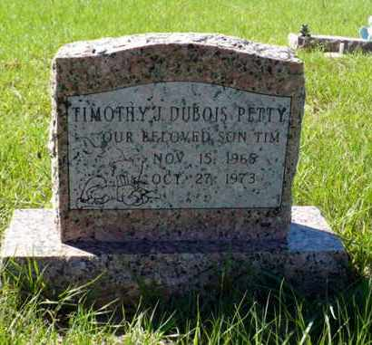 PETTY, TIMOTHY J DUBOIS - Red River County, Louisiana | TIMOTHY J DUBOIS PETTY - Louisiana Gravestone Photos