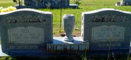 PICKETT, DORA F - Red River County, Louisiana | DORA F PICKETT - Louisiana Gravestone Photos