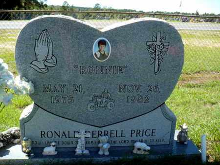 "PRICE, RONALD DERRELL ""RONNIE"" - Red River County, Louisiana 