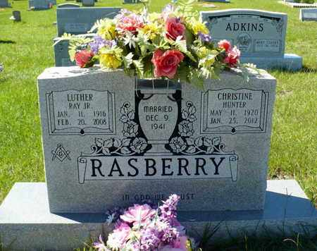 RASBERRY, LUTHER RAY JR - Red River County, Louisiana | LUTHER RAY JR RASBERRY - Louisiana Gravestone Photos