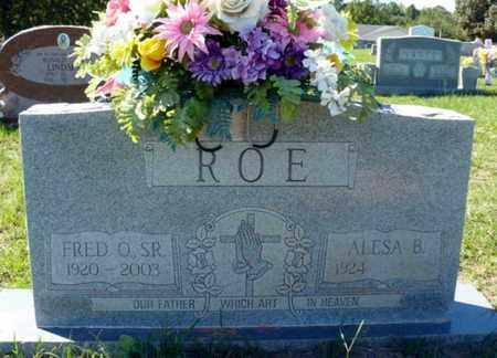 ROE, ALESA - Red River County, Louisiana | ALESA ROE - Louisiana Gravestone Photos