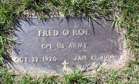 ROE, FRED O - Red River County, Louisiana | FRED O ROE - Louisiana Gravestone Photos