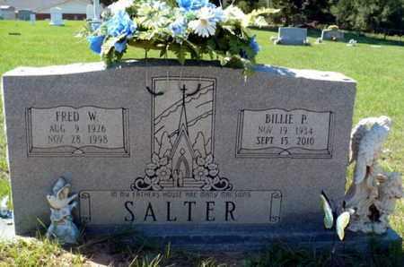 SALTER, BILLIE JIM - Red River County, Louisiana | BILLIE JIM SALTER - Louisiana Gravestone Photos