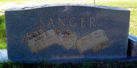 SANGER, PALLIE - Red River County, Louisiana | PALLIE SANGER - Louisiana Gravestone Photos